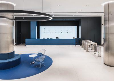 Lobby at Iberia Mart