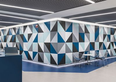 Vestíbulo edificio Iberia Mart