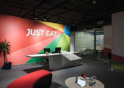 Just Eat Head Offices